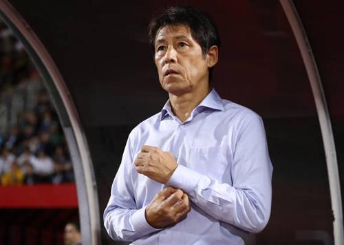 HLV Nishino có trận đấu không thành công về mặt chiến thuật